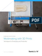 Moldmaking With 3D Printing Formlabs White Paper