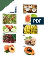 20 Frutas