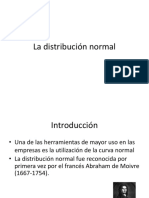 CAP VI La Distribución Normal