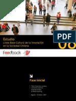 Presentación Estudio Cultura de la Innovación Septiembre 2008