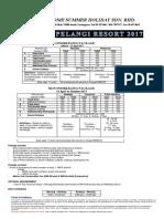 2017 - Redang Pelan2017