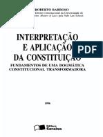 Interpretação e Aplicação Da Constituição 1996