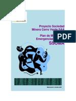 Plan de Manejo de Emergenciasy Crisis El Portillo SAC - SMCVSAA