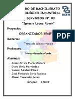 Proyecto de Organizador Gráfico PDF