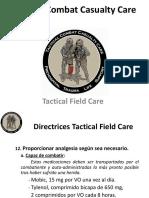 9.Tactical Field Care. v Analgesia.antibióticos