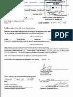 Michael Blaine Faulkner, Matthew Norman Simpson, UWWWB Search warrant
