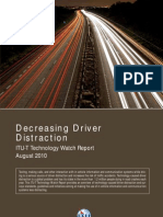 Decreasing Driver Distraction