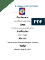 Luis Alfredo Jorge Duran Portafolio Sistematizando Aprendizajes