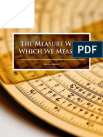 Measure With Which We Measure