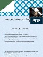 DERECHO Musulmán.pptx