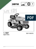 Husqvarna LR121 Mower
