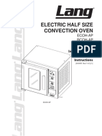 90. Convection Oven ECOH-APM