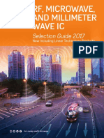 RF Microwave and Millimeter Wave IC Selection Guide 2017