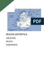 Region Antártica