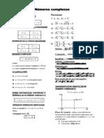 Formulario Números Complexos