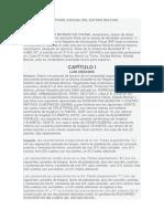 De La Circunscripción Judicial Del Estado Bolívar