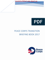 Peace Corps Transition Book 2017