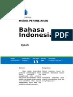 Modul Bahasa Indonesia [TM14]