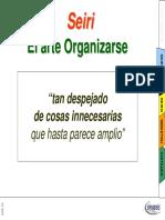 1S - SEIRI  DEL Sistema de gestión por 5S