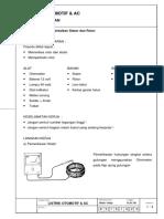 Pengontrolan Perbaikan Stator Dan Rotor
