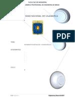 Yacimientos Metálicos de Huancavelica