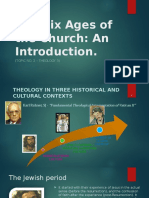 (Topic 02) the Six Ages of the Church