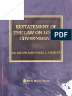 Restatement of the Law on Local Government, J.E. Angeles