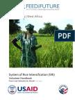 Peace Corps System of Rice Intensification Volunteer SRI Handbook