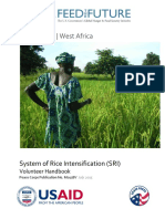 Peace Corps System of Rice Intensification Volunteer SRI Handbook