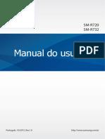 Samsung - Manual Do Usuário - Smartwatch Gear S2 Classic - Modelo SM-R732