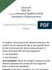 MEC 263 Lecture 03-Standards of Measurements