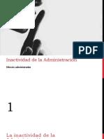 Lectura de Inactividad de la administración..pdf