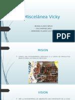 Miscelánea Vicky