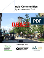 Walk Friendly Communities Assessment Tool DRAFT