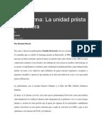 10-07-2017 Mi Columna La Unidad Priista en Sonora