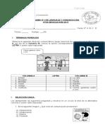 PRUEBA DE COMUNICACIÓN 1 6° BÁSICO FORMA 1