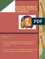 04-21-Presentacion de Tecnicas Para El Buen Manejo de Alimentos y Prevencion de ETAs a Nivel Domici