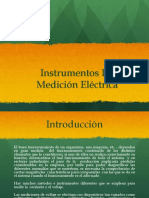 Instrumentos de Mediciones Electricas