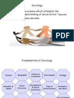 Fundamental of Sociology
