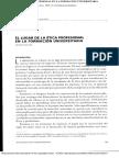 el lugar de la etica profesional en la formacion universitaria.pdf