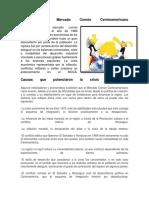 Ruptura Del Mercado Común Centroamericano