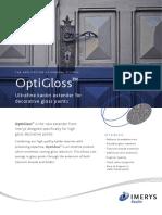 OptiGloss Sell Sheet