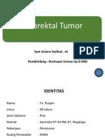 Presentasi Kasus Iyan Kolorectal Cancer 4