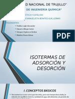 Isotermas de Adsorción y Desorción