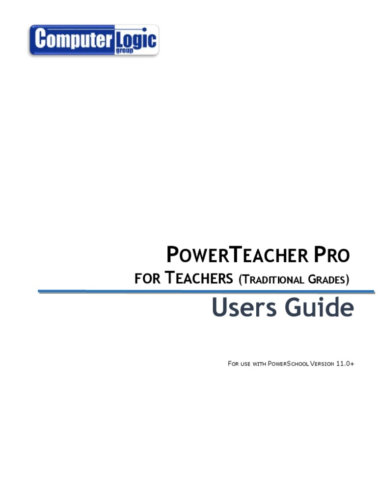 Powerteacher Pro For Teachers Traditional Grades   Users Guide | Android  (Operating System) | Icon (Computing)