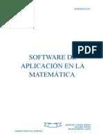 Software de Aplicación en La Matemática