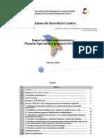 Raport Privind Implementarea POR. Anul 2013