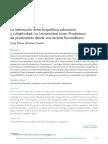 Interacción biopolítica educación
