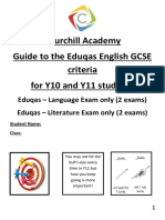 2017 updated gcse eduqas student friendly - y9-11 - in progress