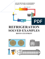 Refrigeration Solved Examples